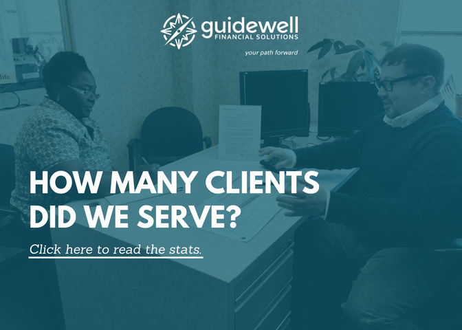Guidewell Financial Services. How many clients did we serve?