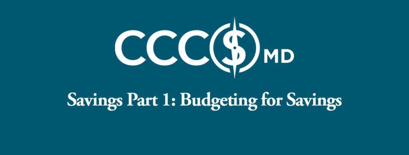 Budgeting for Savings